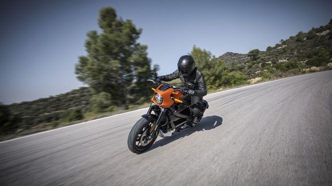 MC-nyheter: Elektrisk Harley og fartsmonster med 450 kilometer rekkevidde