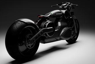 Denne heter Bobber, og er et konsept som skal gi en smak på en kommende motorsykkel.