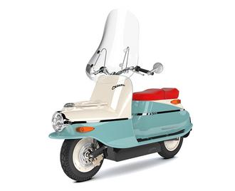 Čezeta type 506 er en retromoped som får nytt liv som elektrisk scooter.