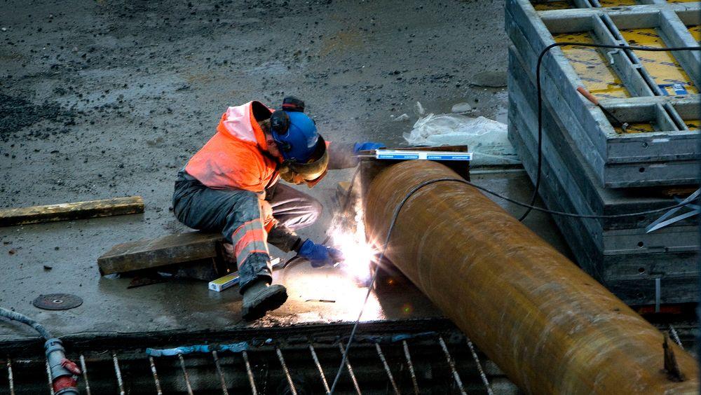 Innvandrere i bygg- og anleggsbransjen har er mer utsatt for risiko enn norske ansatte. lllustrassjonsfoto: