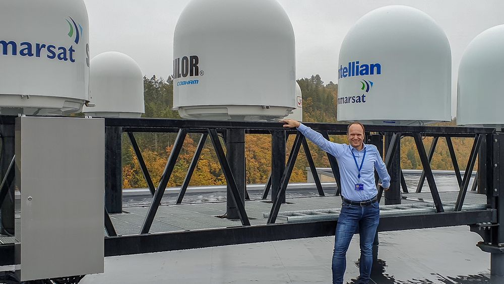 GJEST: Direktør for produktutvikling i Inmarsat, Kjetil Sætre Breivik.