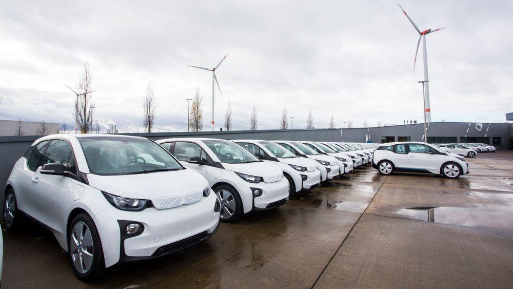 Produksjon av elbiler hos BMW.