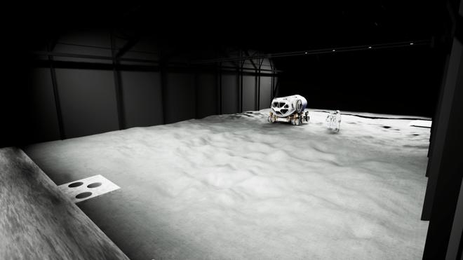 Slik skal det se ut når 1000 kvadratmeter månelandskap står klart i Wien