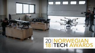 I Sykkylven snur de opp ned på hva droner kan brukes til