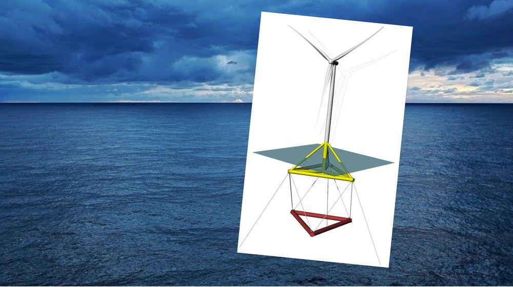 Danske forskere og vindmølleprodusenter skal utvikle havvindmøller som fungerer optimalt også når bølger beveger møllene.
