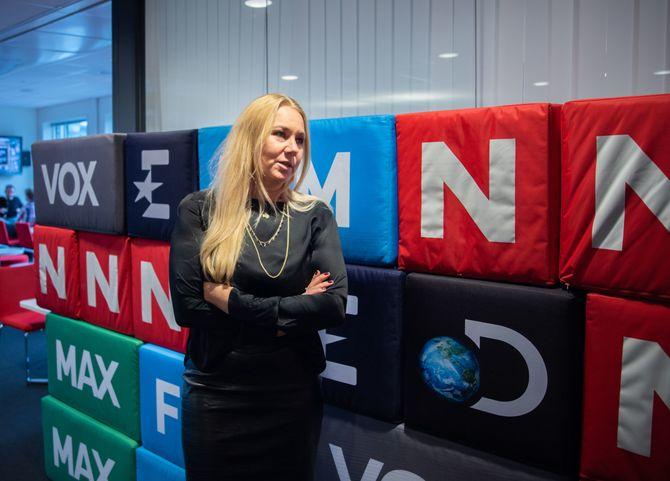 Administrerende direktør Tine Austvoll Jensen i Discovery Network Norge
