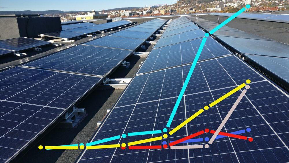 Flere norske solcelle-selskaper vokser.