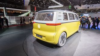 VW ID Buzz i Geneve.