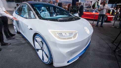 VW ID Neo, konseptutgaven av den kommende elbilen som er ventet å bli VWs «folkemodell».