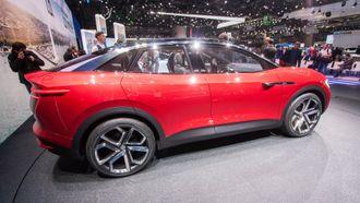 En ID-konseptmodell kalt Crozz, er en elektrisk SUV.