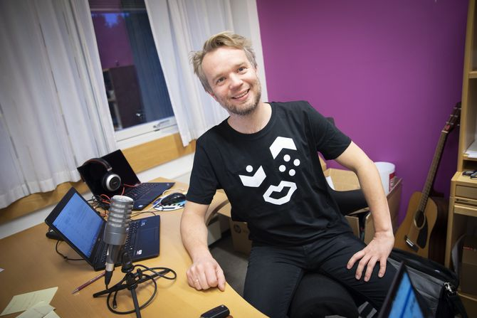 NRK P1-sjef Bjørn Tore Grøtte i NRK.