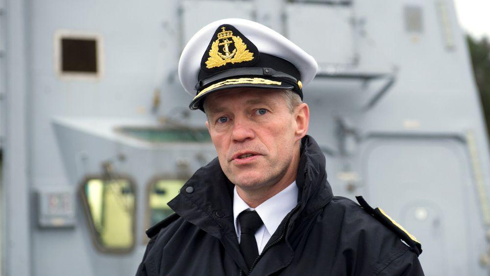 Sjøforsvarssjef Nils Andreas Stensønes sier at han fortsatt ikke vet hva som gikk galt da fregatten Helge Ingstad havarerte.