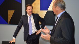 Björn Ivroth går av som konsernsjef i Evry med umiddelbar virkning. Nordmann overtar