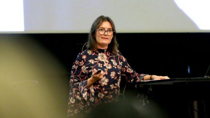 Nestleder Hege Valås i Utdanningsforbundet understreket at styrerens betydning i barnehagen er en kampsak.