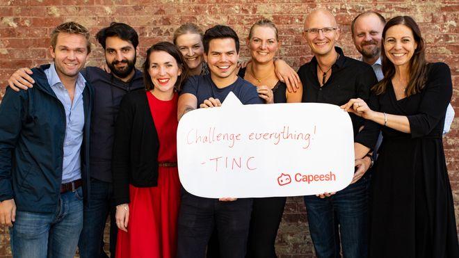 Gruppebilde av noen av TINC-deltakerne. Foto.