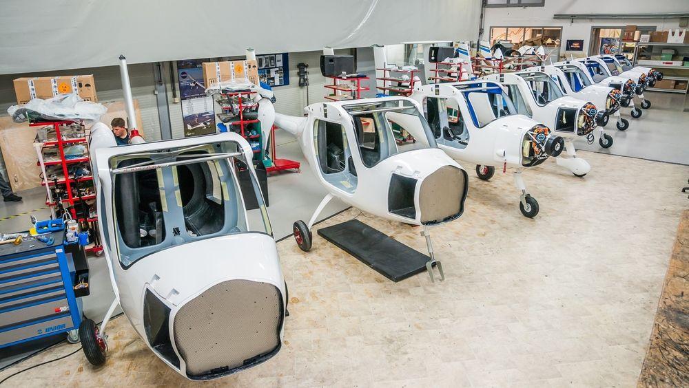Det er rift om elflyene fra Pipistrel, men UiT får trolig to av Alpha Electro-flyene som er under produksjon i Slovenia i løpet av dette året.