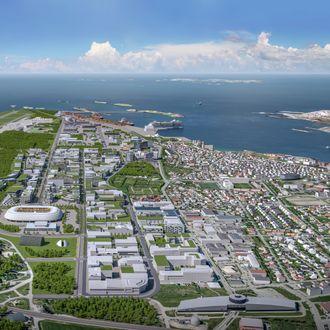 Bodø bygger smart by ved den nye lufthavnen