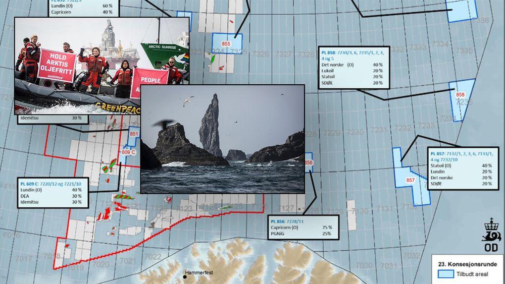 Equinor fant gass i Intrepid Eagle-brønnen i Barentshavet. Den ligger på 723 grader nord og i nærheten av trekket til sjøfugl.