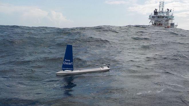Norske Sailbuoy ble første autonome fartøy over Atlanteren. Slik lyktes de