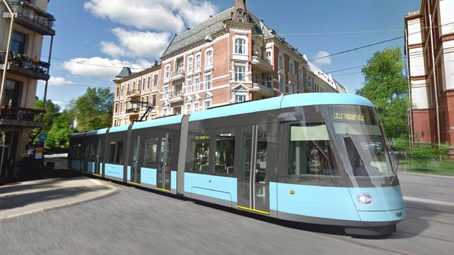 Oslo skal få en ny trikk hver 14. dag fra 2021