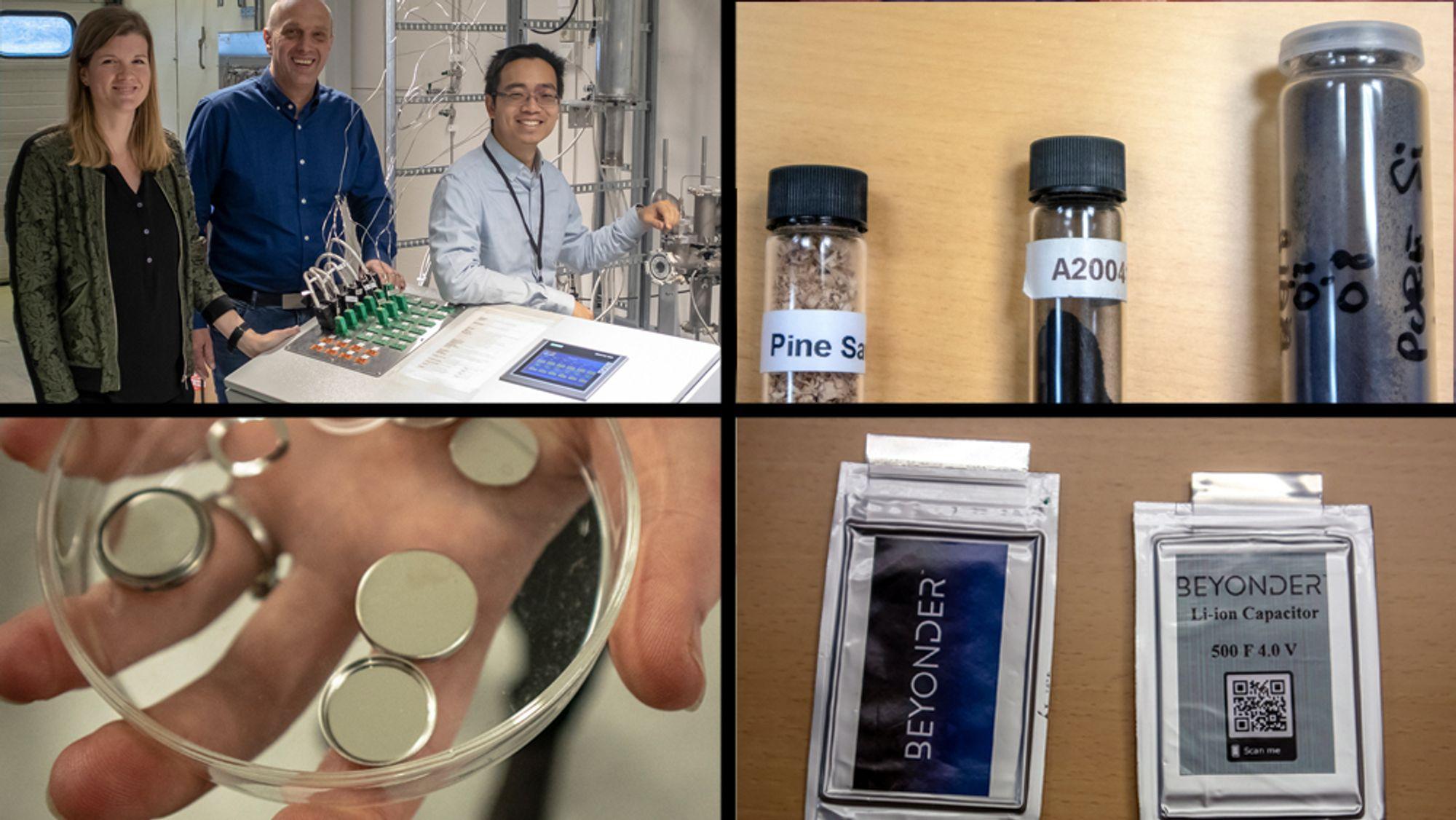 Vil bygge en ultrakondensator i Norge: Beyonder vil skape ny norsk industri ved å kombinere superkondensatorens ytelse med litium-ionbatteriets rimelige lagringskapasitet, basert på norske råvarer.