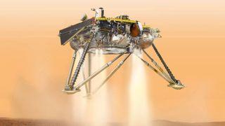 Klar for landing: NASA-sonden InSight skal skaffe ny kunnskap om Mars