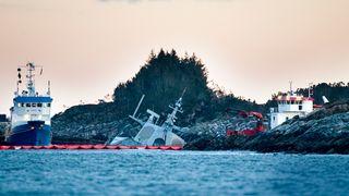 Torsdag kommer den foreløpige rapporten om fregatt-forliset