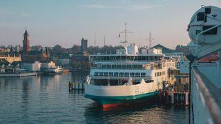 Da rederiet HH Ferries skiftet navn til ForSea, ble også fergene malt om. Det passet ikke robot-laderens 3D-laser.