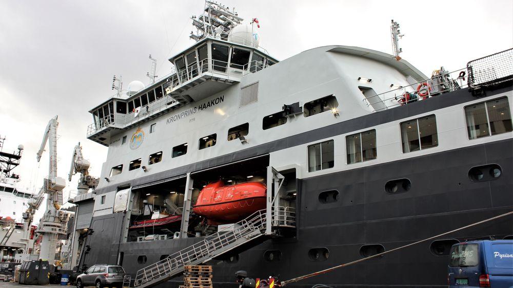 Lørdag 1. desember 2018 kaster denne kraftpluggen loss fra Bergen Havn og legger kursen mot Antarktis.