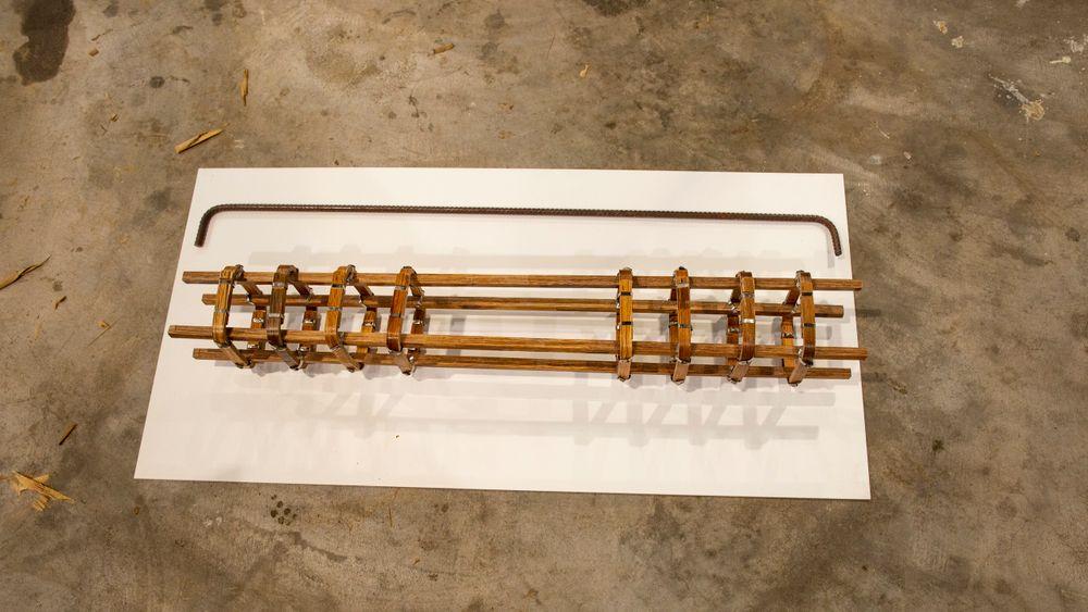 Forskere i Singapore har utviklet en kompositt av bambus som kan erstatte stålarmenering i betong