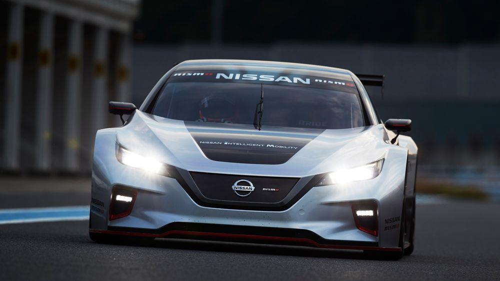 Nissan Leaf Nismo RC ble vist frem i helgen.