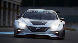 Nissan har bygget racerbilutgave av Leaf