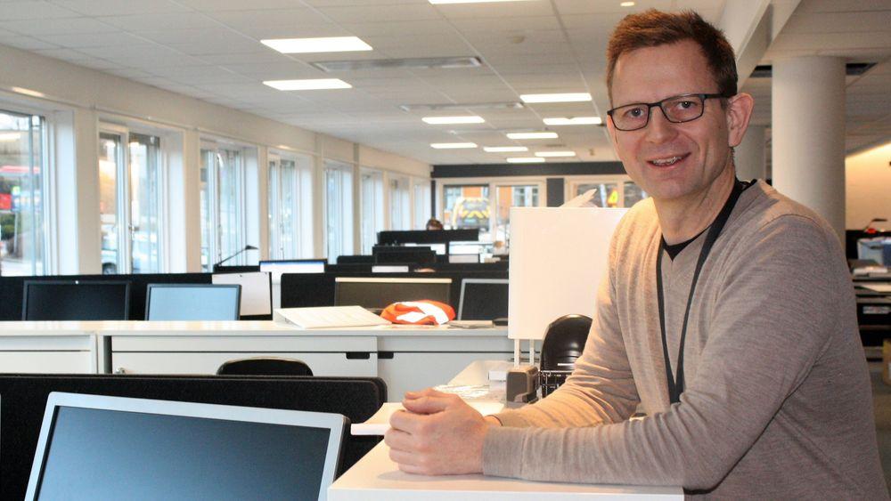 Sivilingeniør Arild Aardalsbakke (43) er markedssjef i ÅF og straks tobarnsfar.
