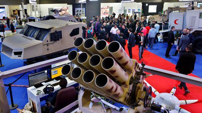 Nammo på våpenmesse i Egypt: Kritikere vil ha regler mot våpensalg til urolige områder