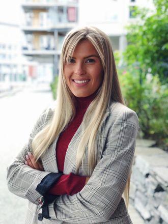 Line Pevik, 24 år, er fast ansatt som skrivende leder for Trd.by i Adresseavisen
