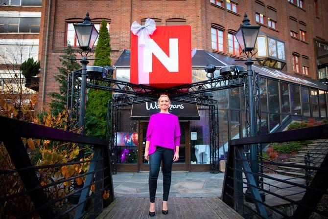 Administrerende direktør Tine Austvoll Jensen i Discovery Networks Norway.