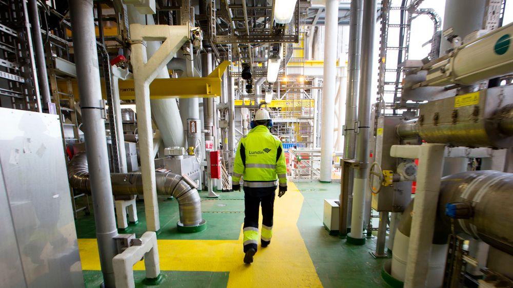 Stortingspolitikere krever at varmen til prosessanlegget om bord på Edvard Grieg-plattformen kommer fra andre kilder enn gassturbinene innen 2022.