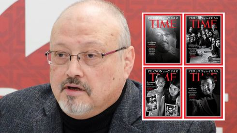 Jamal Khashoggi og andre drepte og fengslede journalister er «Person of The Year»