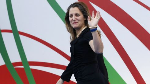Chrystia Freeland. Foto.