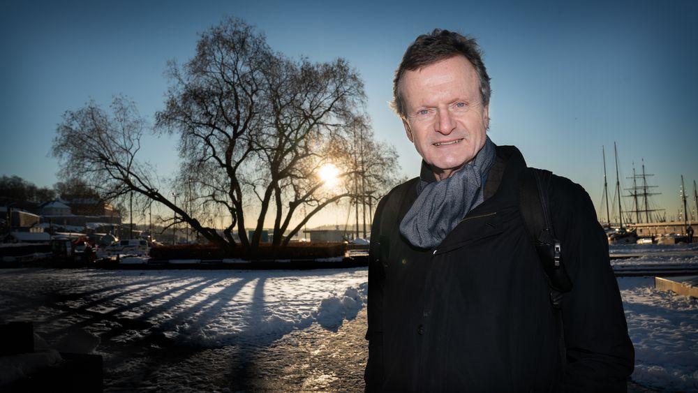 – Vannkraften vår er ren, men hele vår rikdom er brun. På grunn av olje og gass. Det mener jeg vi må tenke litt mer på, sier Baksaas. Han mener Norge må bruke formuen sin til å finne grønne løsninger som også kan gagne andre land.