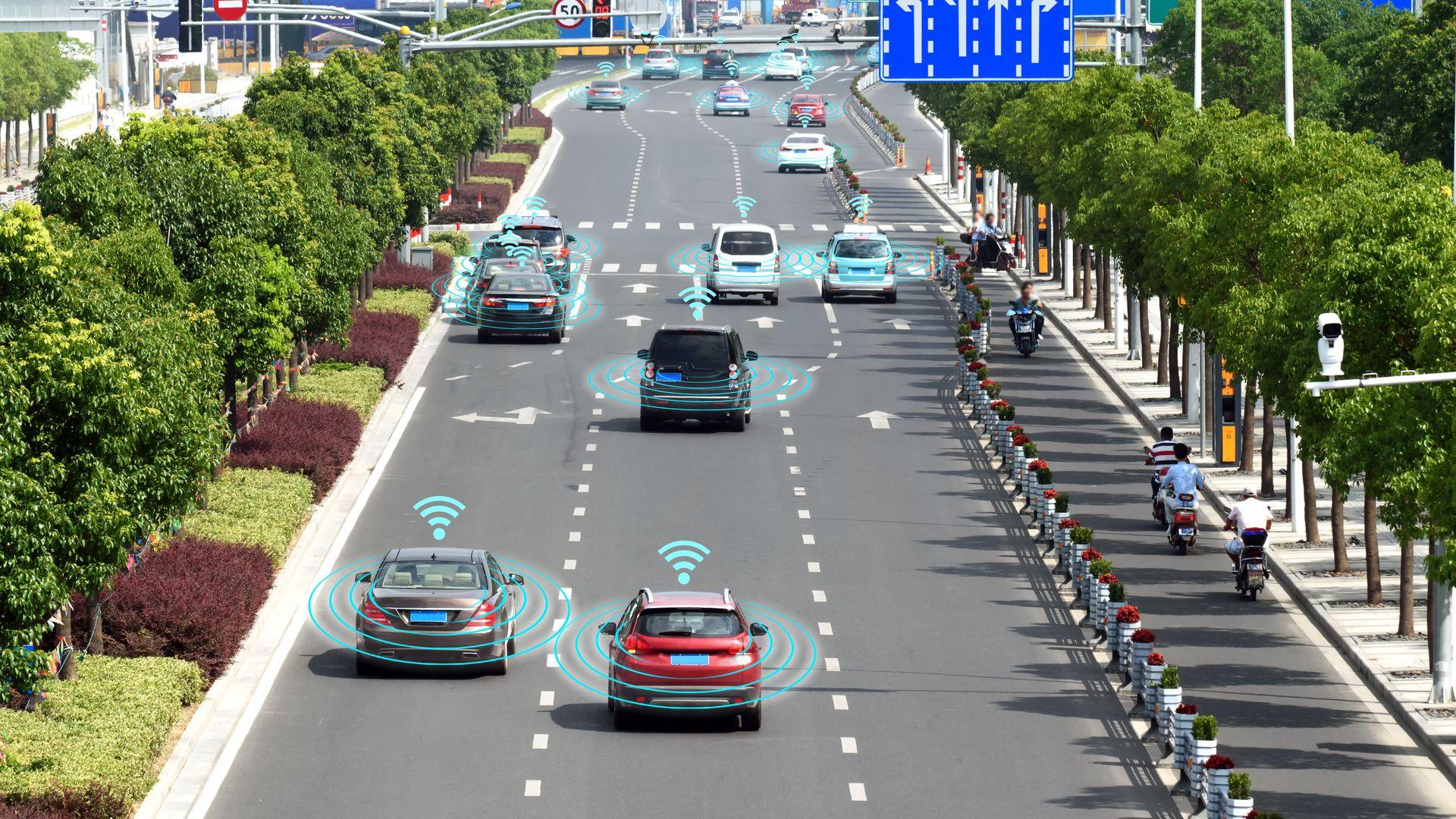 Byene våre vil bli enda smartere, og selvkjørende biler vil fortsette å bli videreutviklet i 2019.