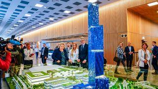 Røkkes blå tårn på Fornebu viser seg å ha 40 etasjers hotell