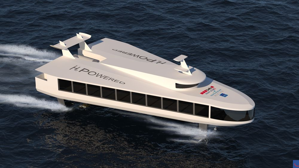 ZEFF - Zero emission fast ferry. Nullutslipps hurtigbåt med foiler, drevetr av brenselcelle og hydrogen.  Partnere: Selfa Arctic, LMG Marin, Hyon, Servogear, Norled.