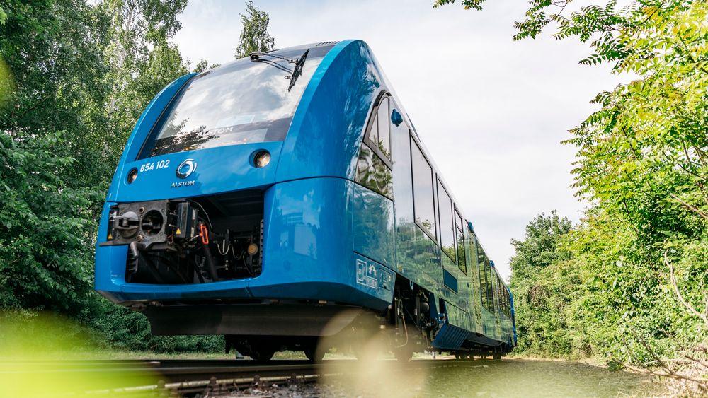 Kanskje til Norge: Det er stor politisk interesse for å teste ut hydrogentog i Norge.