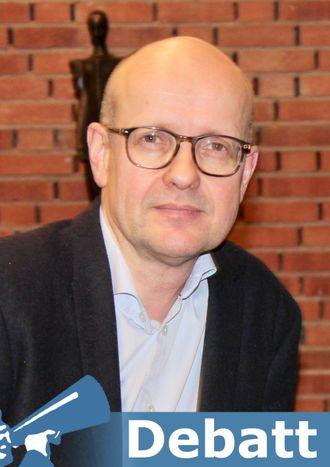 Olav Lysne, portrett.