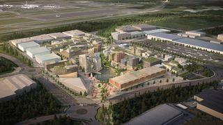 Oslo Airport City utvikles av Thor Thoeneie og Vedal