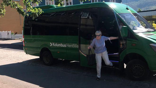 I Sauda skaper de nye bussruter i sanntid - basert på passasjerenes behov