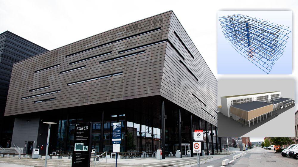 Fagskolen i Oslo og Akershus har campus på Kuben yrkesarena på Økern i Oslo.
