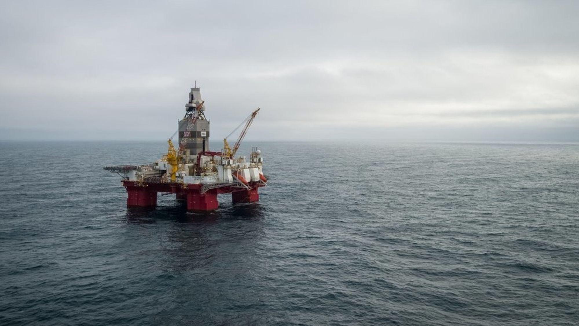 Equinor mener samfunnet vil tape milliarder på å opprette en ilandføringsterminal for Castberg-oljen ved Nordkapp. bildet er fra Skruis-feltet, som er vurdert knyttet sammen med Castberg-feltet åtte kilometer unna.