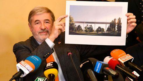 Gjenoppbygges etter kollapsen: Slik blir den nye Morandi-broen